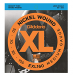 D'Addario EXL160 Electric Bass Strings Medium Wound  50-105 1 Set