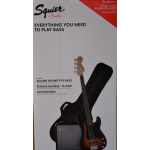 Squier Affinity Bass Pack